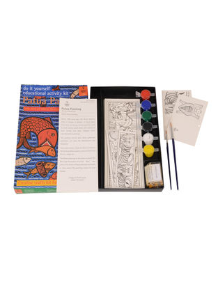 DIY Indian Art Kit - Patua Painting of West Bengal