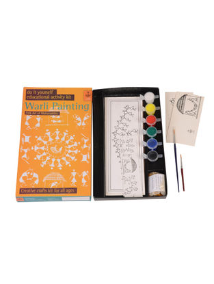 DIY Indian Art Kit - Warli Painting of Maharashtra
