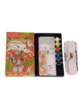 DIY Indian Art Kit - Kerala Painting
