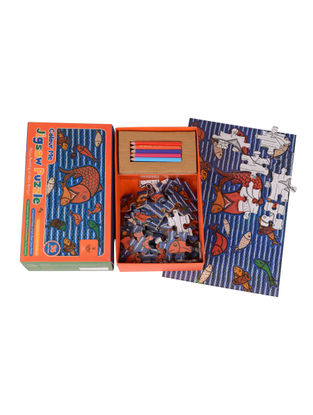 Color Me Jigsaw Puzzle-Patua Painting of West Bengal