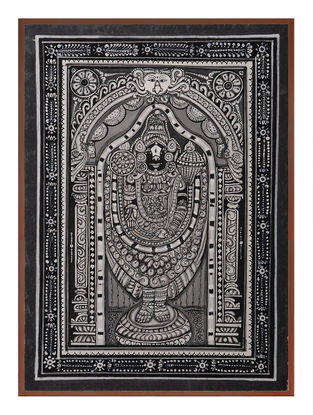 Tirupati Pattachitra on Patta 12in x 9in