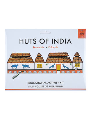 DIY Educational Kit - Mud Houses of Jharkhand