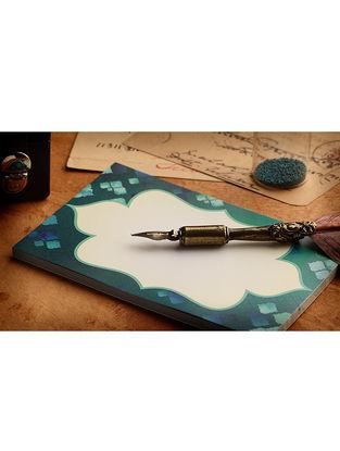 Teal Moroccan Mosaic Notepad