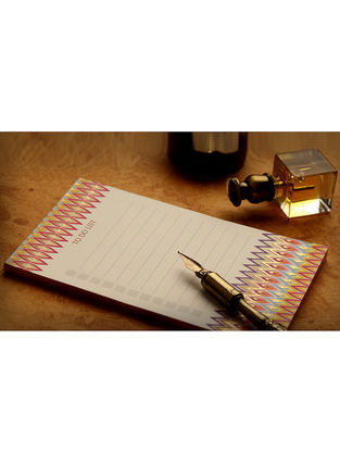 Multicolored Ikat Notepad