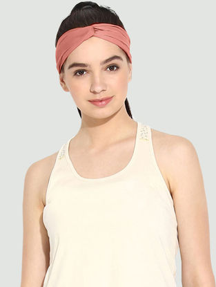 Salmon Organic Cotton Headband