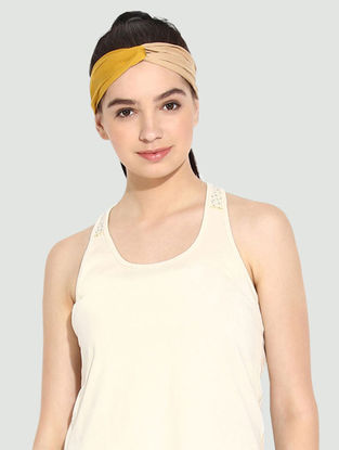 Mustard Organic Cotton Headband