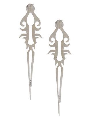 Tail Silver Earrings
