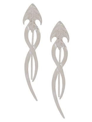 Arrow Silver Earrings