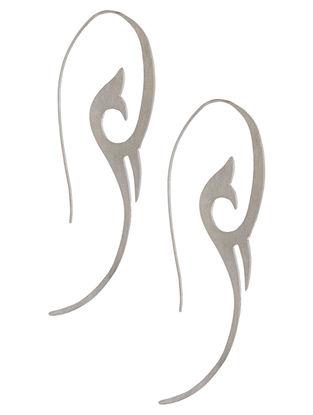 Bloom Within Silver Earrings