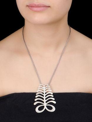 Fern Silver Pendant