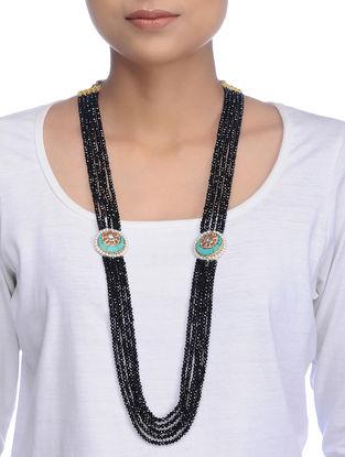 Black-Turquoise Onyx Necklace