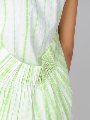 Green Shibori Cotton Shrug