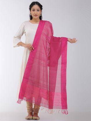 Pink Maheshwari Dupatta