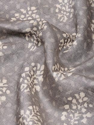 Kashish Dabu-printed Tussar Silk Fabric