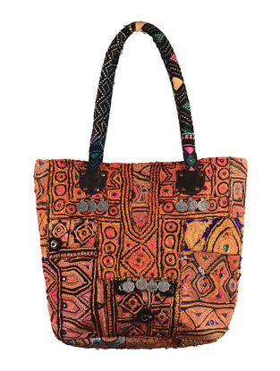 Multi-Color Embroidered Banjara Tote Bag
