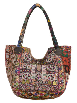 Multi-Color Banjara Embroidered Tote Bag