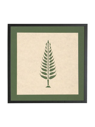 Fern Tree Sanjhi Wall Art 9.8in x 9.8in