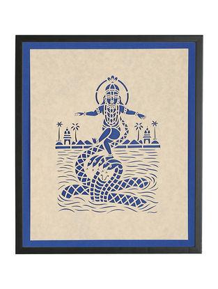 Nagdaman Leela Sanjhi Wall Art 15in x 13in