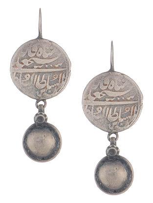 Coin Silver Earrings