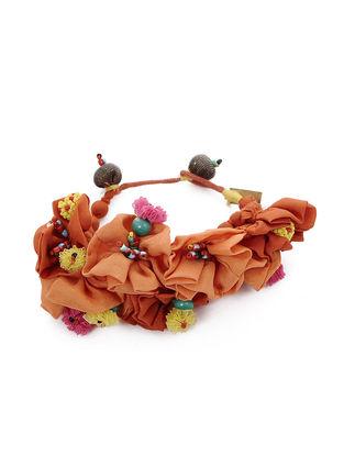 Orange Silk Bracelet