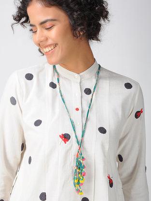 Multicolored Cotton Silk Necklace