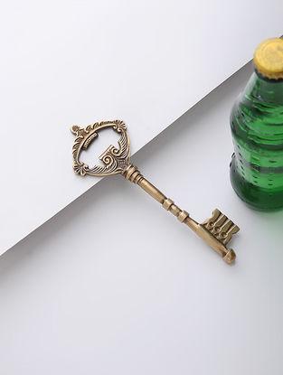 Brass Bottle Opener (6.2in x 2in)