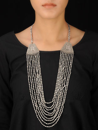Classic Bold Silver Necklace
