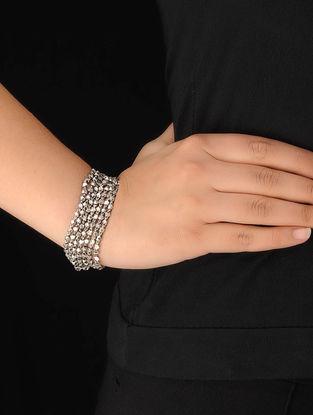 Classic Bold Silver Bracelet