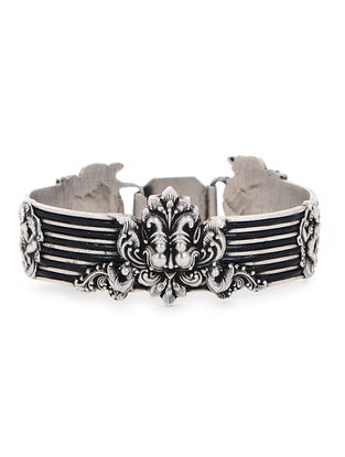 Tribal Silver Bangle (Bangle Size -2/8)