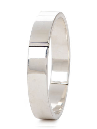 Tribal Silver Bangle (Bangle Size -2/6)