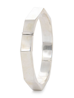 Tribal Silver Bangle (Bangle Size -2/4)