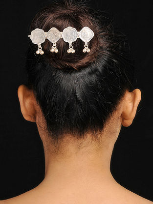 Tribal Hair Accessory with Coins