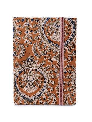 Yellow-Multicolored Printed Khata Notebook