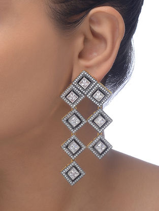 Black Gold-plated Earrings