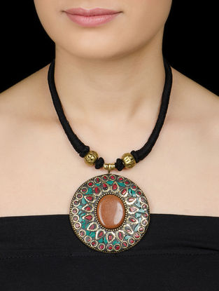 Multicolor Tribal Necklace by Silverholic
