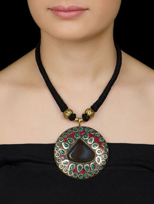 Multicolor Gypsy Necklace by Silverholic