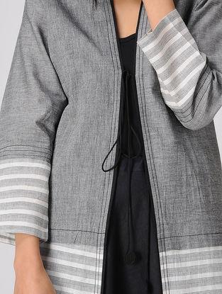 Grey Tie-up South Cotton Jacket