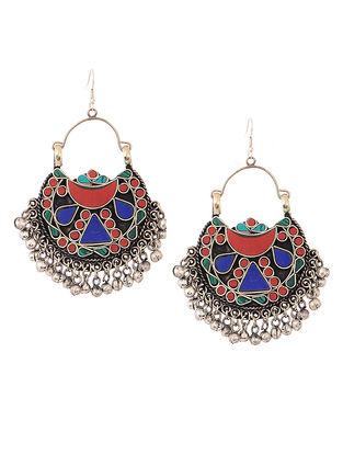 Red-Blue Earrings