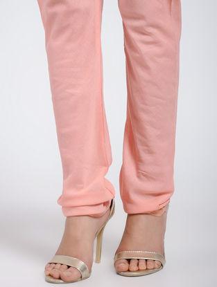 Peach Cotton Churidar
