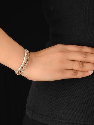 Acqua-Silver Zardosi Bracelet