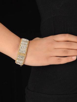 Tan Crystal Bracelet