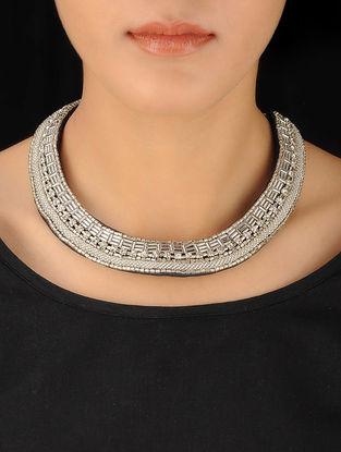 Grey-Blue Thin Beads Haar
