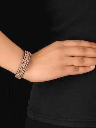 Black-Gold Zardosi Bracelet