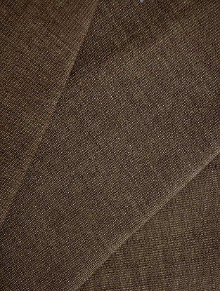 Brown - Vanilla Cotton Bamboo Fabric