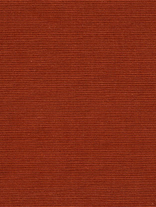 Rust Cotton Bamboo Regular Solid Fabric