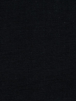Black Cotton Bamboo Regular Solid Fabric