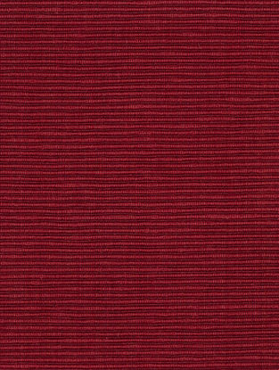 Red-Maroon Cotton Claret Bamboo Two Tone Fabric