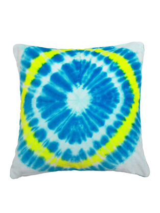 Tie & Dye Diamond Cushion Cover 16in X 16in by YAMINI