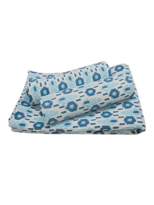 Ikat Pattern Bath Towel-1 & Face Towel-2