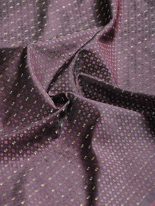 Pink-Black Tanchoi Benarasi Katan Silk Fabric